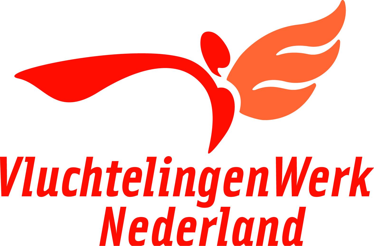 logo vluchtelingen werk